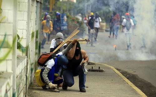 ادامه ناآرامی و تظاهرات ضد حکومتی در شهرهای ونزوئلا