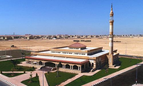 مسجد 2 هزار نفره پایگاه نظامی