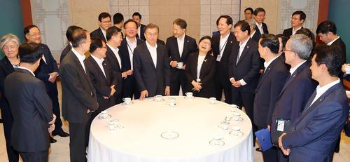 نخستین جلسه مشترک کابینه رییس جمهور جدید کره جنوبی در سئول