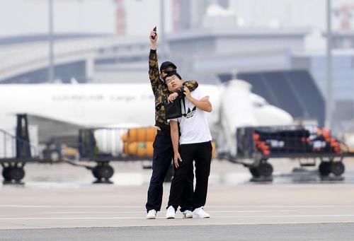 برگزاری مانور مقابله با هواپیماربایی در فرودگاه شهر چانگچون چین
