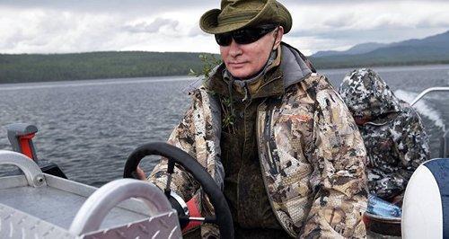 ولادیمر پوتین رئیس جمهور روسیه