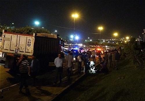 تصادف 5 خودرو در تهران/ یک کشته و 4 زخمی (+عکس)
