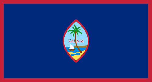 پرچم جزیره گوام