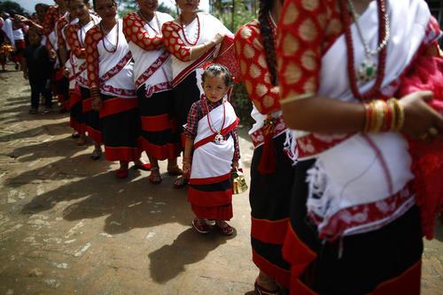جشنواره ماتایا یا جشنواره نور در شهر لالیتپور نپال
