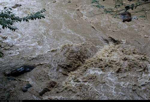 بارش های شدید باران در شهرستان فومن استان گیلان