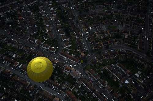تصویری از جشنواره بالن در بریستول انگلیس