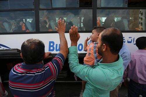 اعزام زائران فلسطینی حج تمتع از باریکه غزه