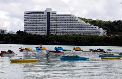 خالی شدن جزیره گوام از توریست های خارجی