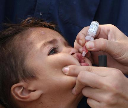اجرای طرح واکسیناسیون فلج اطفال در جلال آباد افغانستان
