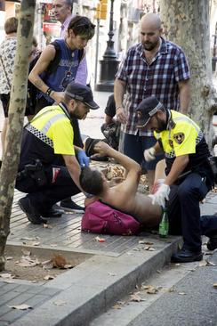 حمله تروریستی در بارسلون اسپانیا