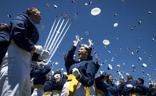 جشن فارغ التحصیلی افسران دانشکده نیروی هوایی در
