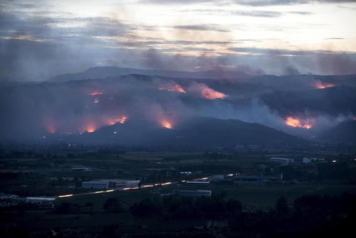 آتش سوزی جنگل ها – اسپانیا