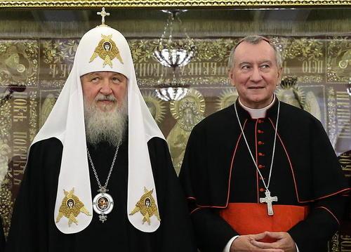 سفر وزیر امور خارجه واتیکان به روسیه و ملاقات با اسقف اعظم کلیسای ارتدوکس روسیه – مسکو