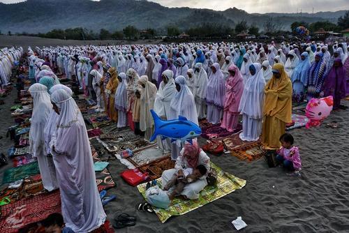 نماز عید قربان در