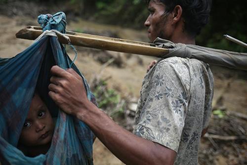 پناهجویان مسلمان میانماری در بنگلادش