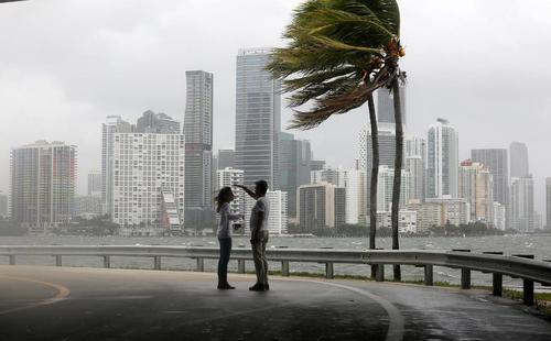 توفان ایرما در شهر های