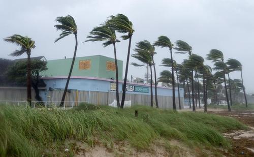 توفان مهیب ایرما در ایالت فلوریدا آمریکا