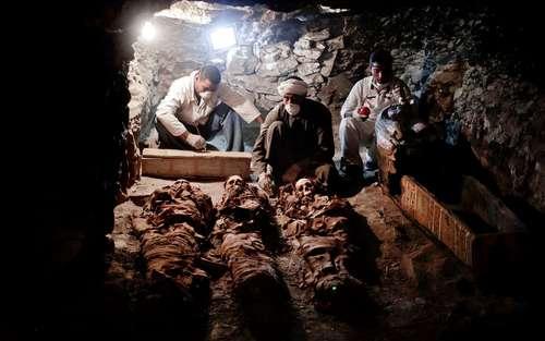 کشف یک مقبره 3500 ساله مصر باستان در شهر اقصر در جنوب مصر
