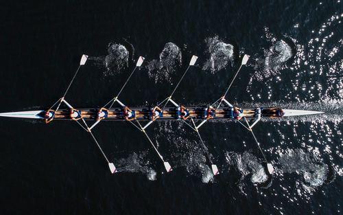 مسابقات بین المللی قایقرانی در استانبول