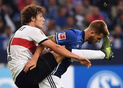 درگیری بازیکن های دو تیم فوتبال