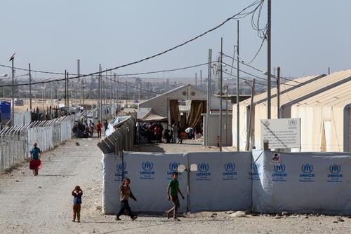 اردوگاه نگهداری زنان و فرزندان ستیزه جویان داعش در جنوب شهر موصل عراق