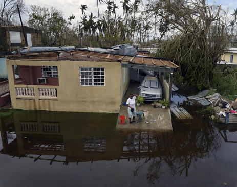 صدمات و خسارات برجای مانده از توفان