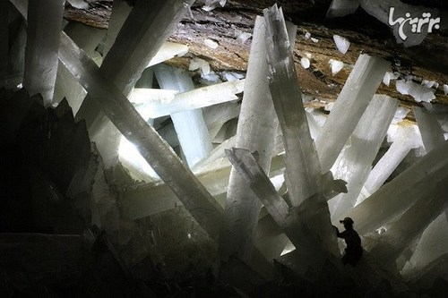 بزرگترین غار کریستالی دنیا در مکزیک (+عکس)