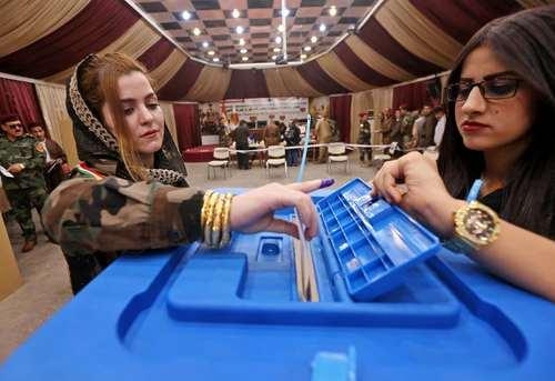 همه پرسی استقلال کردستان عراق – شهر اربیل