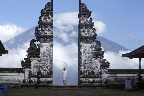 معبدی در بالی اندونزی