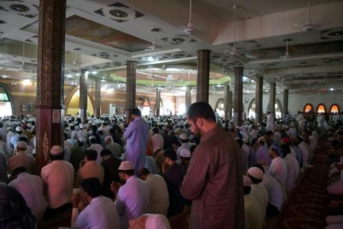 مسجد احمر در شهر اسلام آباد - پاکستان / خبرگزاری فرانسه