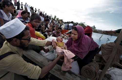 موج ورود پناهجویان مسلمان میانماری به بنگلادش