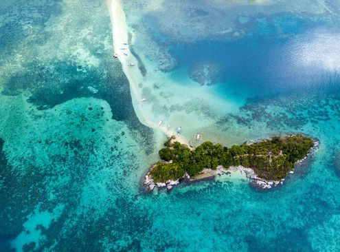 جزیره مار از مجمع الجزایر فیلیپین