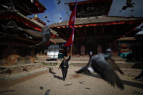 میدان مرکزی شهر کاتماندو نپال