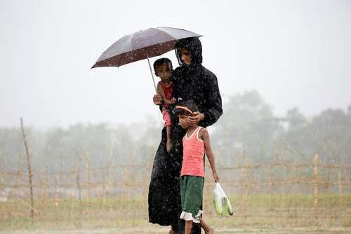 اردوگاه پناهجویان مسلمان میانماری - بنگلادش