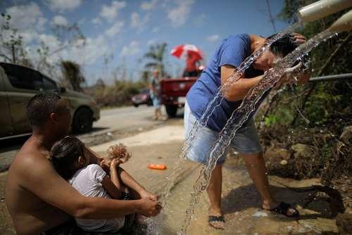 زندگی توفان زدگان در پورتوریکو