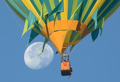 جشنواره بین المللی بالن در شهر آلبوکرک در ایالت نیومکزیکو آمریکا
