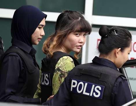 جلسه دادگاه یکی از دو زن مظنون به ترور بیولوژیک برادر ناتنی رهبر کره شمالی