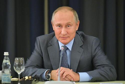 رییس جمهور روسیه در جلسه دیدار با کارآفرینان آلمانی در روسیه