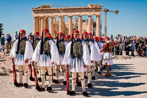 مراسم سالگرد آزادشدن یونان از اشغال نازی ها – آتن
