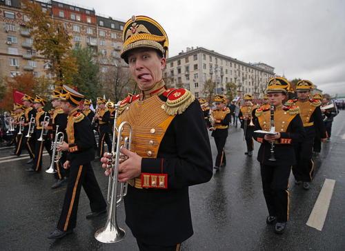 جشنواره سالانه جوانان و دانشجویان در مسکو