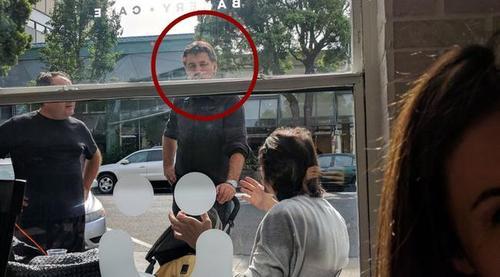 هاکان شوکور در رستوران خود در کالیفرنیا آمریکا