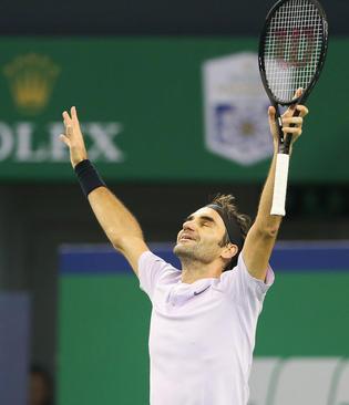 کسب قهرمانی راجر فدرر تنیسور مشهور سوییسی در تورنمنت تنیس