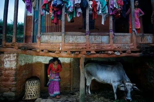 خانه ای روستایی در نپال