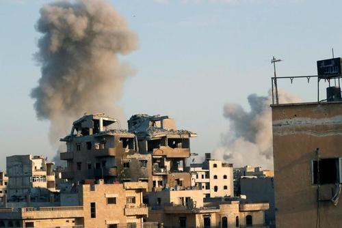 شهر رقه سوريه/ رويترز