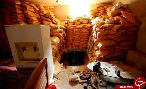 نمونهای از تونلهای زیرزمینی داعش در مناطق مختلف شهر
