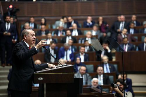 سخنرانی رجب طیب اردوغان رییس جمهور ترکیه در کنگره سالانه حزب حاکم عد و توسعه ترکیه – آنکارا