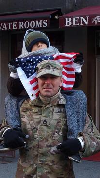 رژه سالانه روز یادبود جنگ در نیویورک
