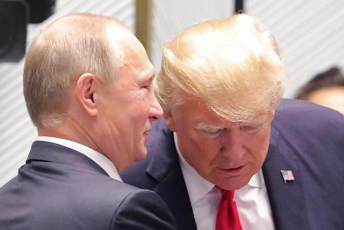 حرف های درگوشی پوتین و ترامپ در حاشیه اجلاس سران اپک در ویتنام