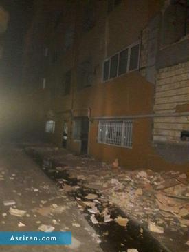 خسارات زلزله در روانسر کرمانشاه