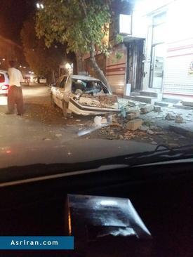 خسارات زلزله در جوانرود کرمانشاه